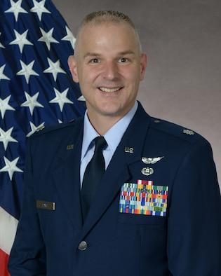 Lt. Col. Royal Davis, 50th Space Wing SJA.