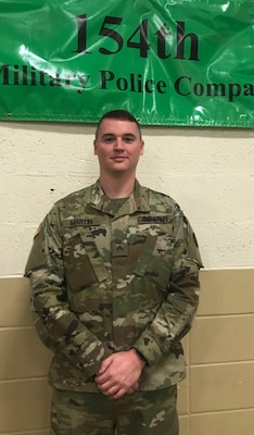 Cpl. Timothy Martin is the West Virginia Army National Guard Soldier Spotlight for November 2018. (Courtesy photo)