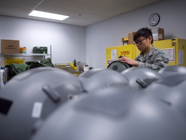 Guard oxygen Airmen help 176th Wing aircrew breathe easy.