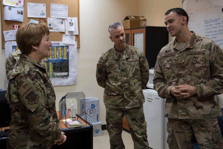 Air Force surgeon general visits 'The Rock'