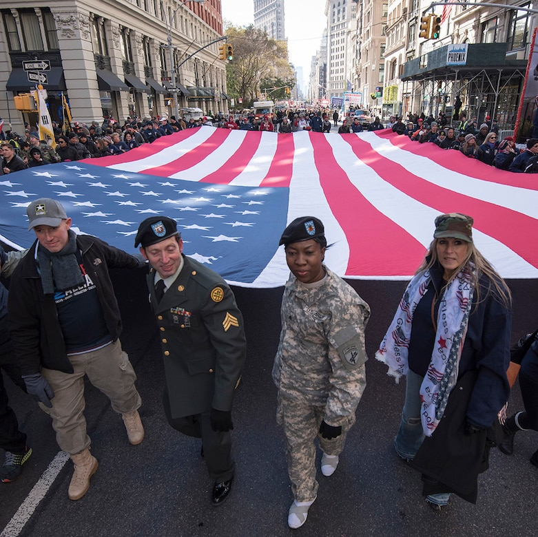 Veterans Day parade pic