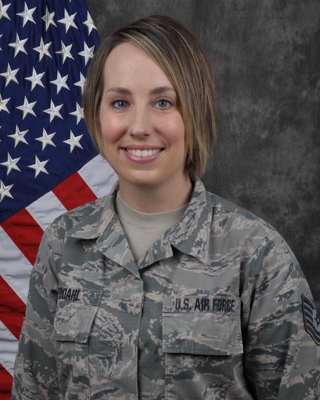 Tech. Sgt. Traci Todahl, 445th Aeromedical Staging Squadron medical services administrator, is the 445th Airlift Wing NCO of the Quarter