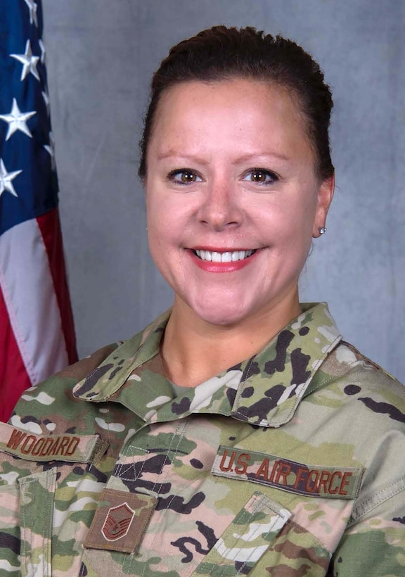 Master Sgt. Tara Woodard, 445th Force Support Squadron personnel systems manager, is the 445th Airlift Wing Senior NCO of the Quarter.