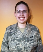 Senior Airman Samantha Lefaive, 445th Civil Engineer Squadron engineering assistant, is the 445th Airlift Wing Airman of the Quarter.