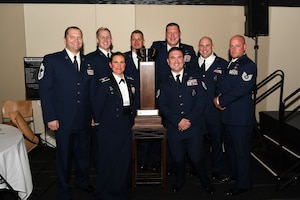 photo of Airmen earning award