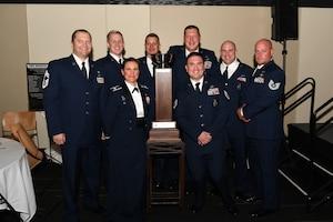 photo of Airmen earning award