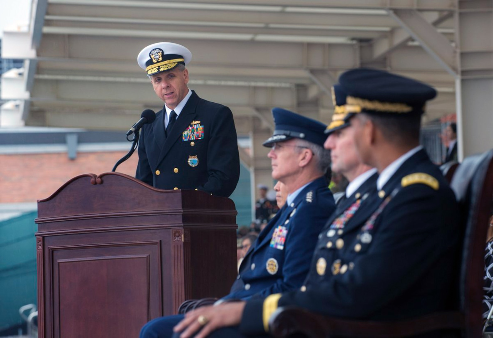ADM Davidson - Remarks at the UNC/CFC/USFK Change of Command