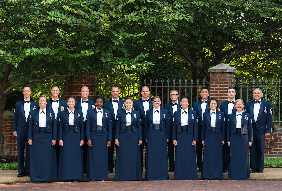 Official Photo of the U.S. Air Force Singing Sergeants