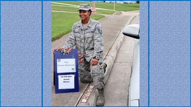 Tech. Sgt. Brianne Blackstock
