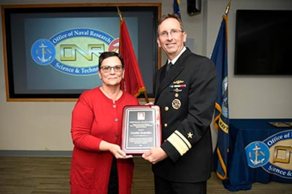 NUWC Division Newport's Educational Outreach director wins Office of Naval Research Vice Adm. Samuel L. Gravely Award