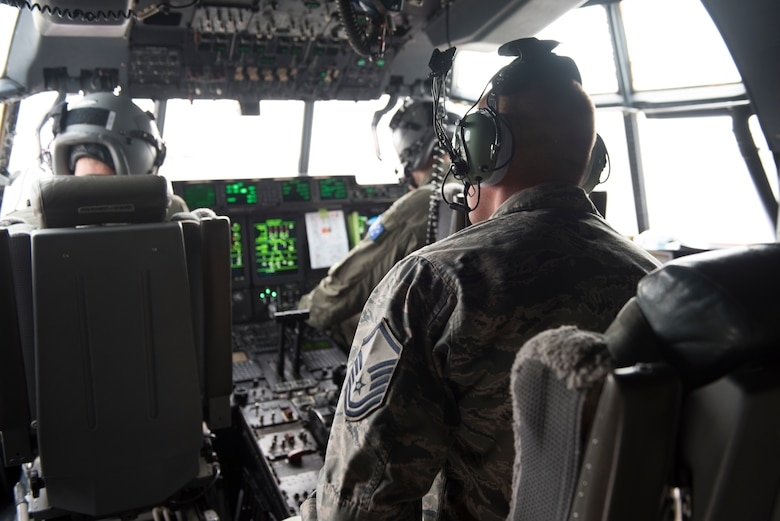 Image of members of the Royal Australian Air Force and a member of the U.S. Air Force prepare to take off from Mountain Home Air Force Base, Idaho, Nov. 1, 2018. Both parties stressed the importance of interoperability and nurturing the relationship between the two. (U.S. Air Force photo by Senior Airman Alaysia Berry)
