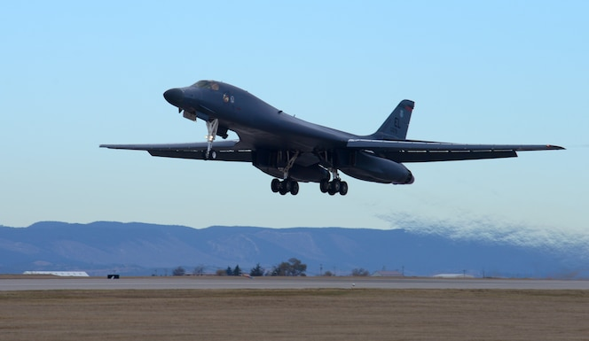 More than 100 Airmen from the 37th Bomb Squadron and 28th Aircraft Maintenance Squadron at Ellsworth Air Force Base departed Oct. 25 to participate in exercise Green Flag 18-10, which runs from Oct. 25 to Nov. 9.