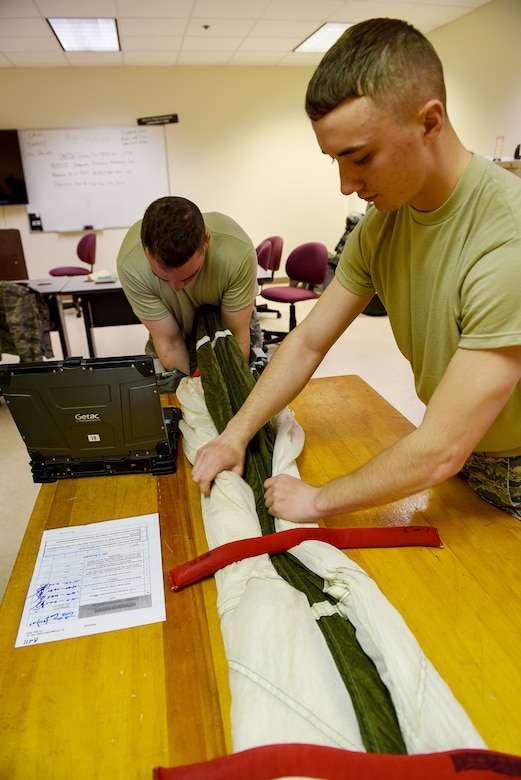 361st TRS aircrew flight equipment training