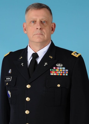 Chaplain (Lt.Col.) Bobby R. Patton Jr., Command Chaplain, District of Columbia National Guard