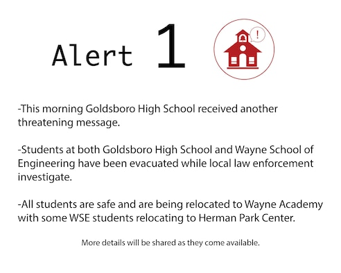 All students are safe and are being relocated to Wayne Academy with some WSE students relocating to Herman Park Center. More details will be shared as they come available.