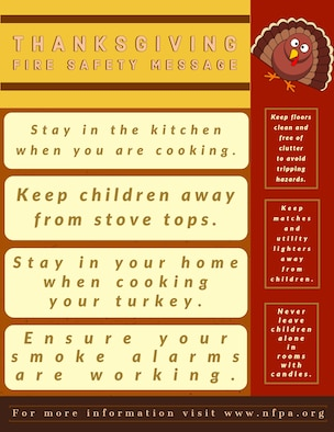 According to the National Fire Prevention Association, Thanksgiving is the highest reported day for home cooking fires with more than 1,700 fires since 2015.