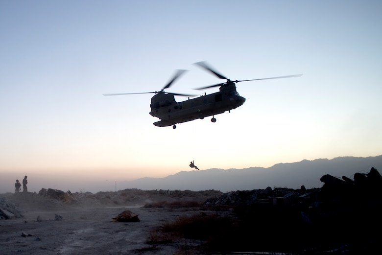 Pararescue training