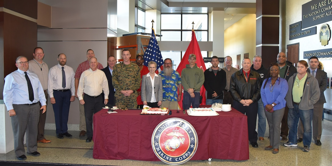 DLA Distribution celebrates the Marine Corps 243rd birthday