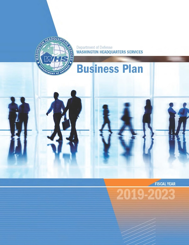 Cover for the Washington Headquarters Group Business Plan 2019-2023
