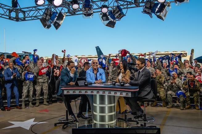 Luke AFB hosts ESPN First Take show