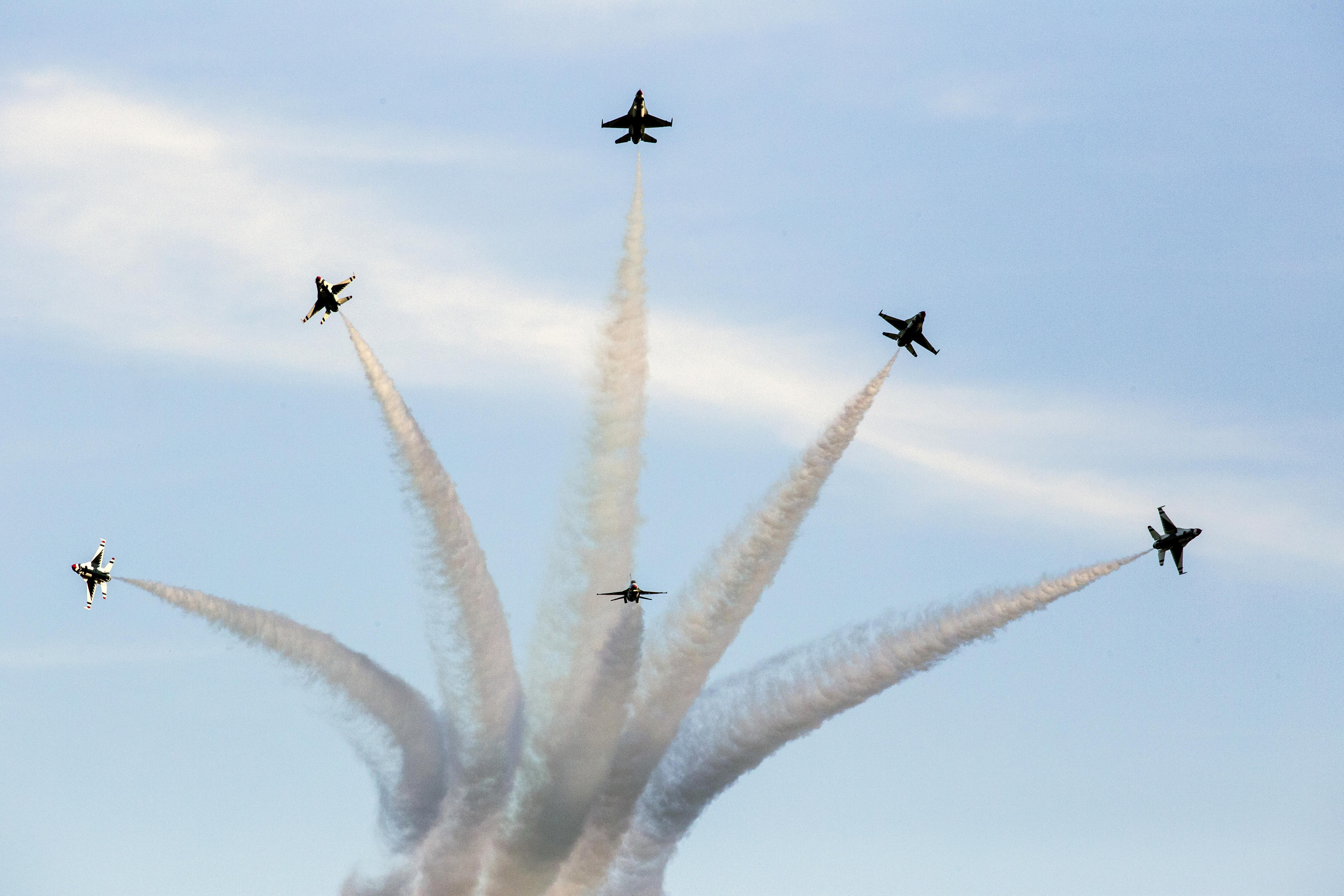 Homestead Air Show 2020.Thunderbirds Headline 2020 Shaw Air Expo Shaw Air Force