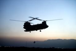 U.S. Air Force pararescue Airmen conduct in-flight medical training scenarios Nov. 6, 2018 at Bagram Airfield, Afghanistan.