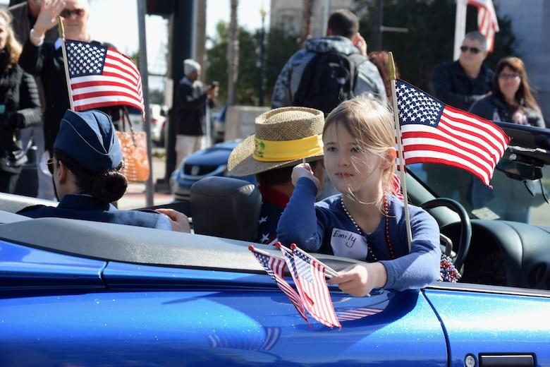Keesler leadership participate in veterans day parade
