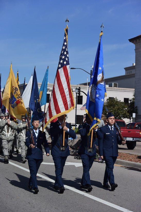 Keesler participates in Veterans Day Parade