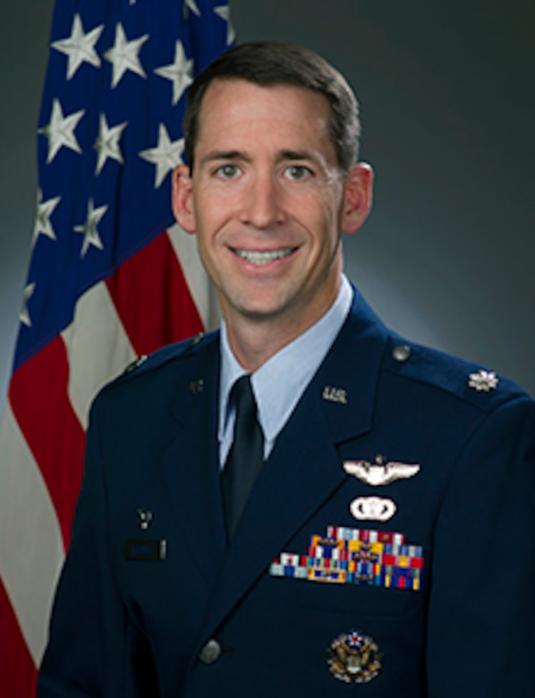 Lt. Col. Randall Heusser official photo