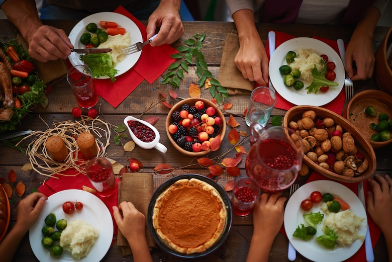 Friendsgiving is a way to keep the Thanksgiving celebration alive even when away from family. Each year, many service members find themselves away from home, but they can still celebrate the holiday with an evening of food, friends, and fun. (Courtesy photo)