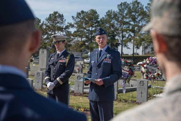 Air University commemorates 100th Remembrance Day