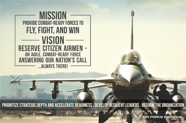 Air Force Reserve mission, vision statement