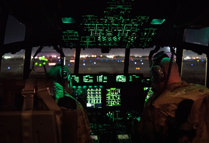 Security forces Airmen are experts in base defense and provide support to the airfield and mission partners through offensive and defensive postures, quick response force capabilities, and fly away security teams that support C-130 missions to dangerous locations.