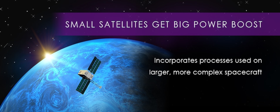 Small Satellites Get Big Power Boost