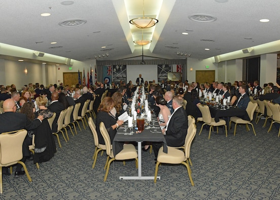 The United Kingdom Joint Strike Fighter Test and Evaluation Squadron here at Edwards hosted the Royal Air Force Battle of Britain Night at Club Muroc Nov. 9. Patrons were treated to dinner and beverages to commemorate the World War II battle, which lasted July 10 to October 31, 1940.