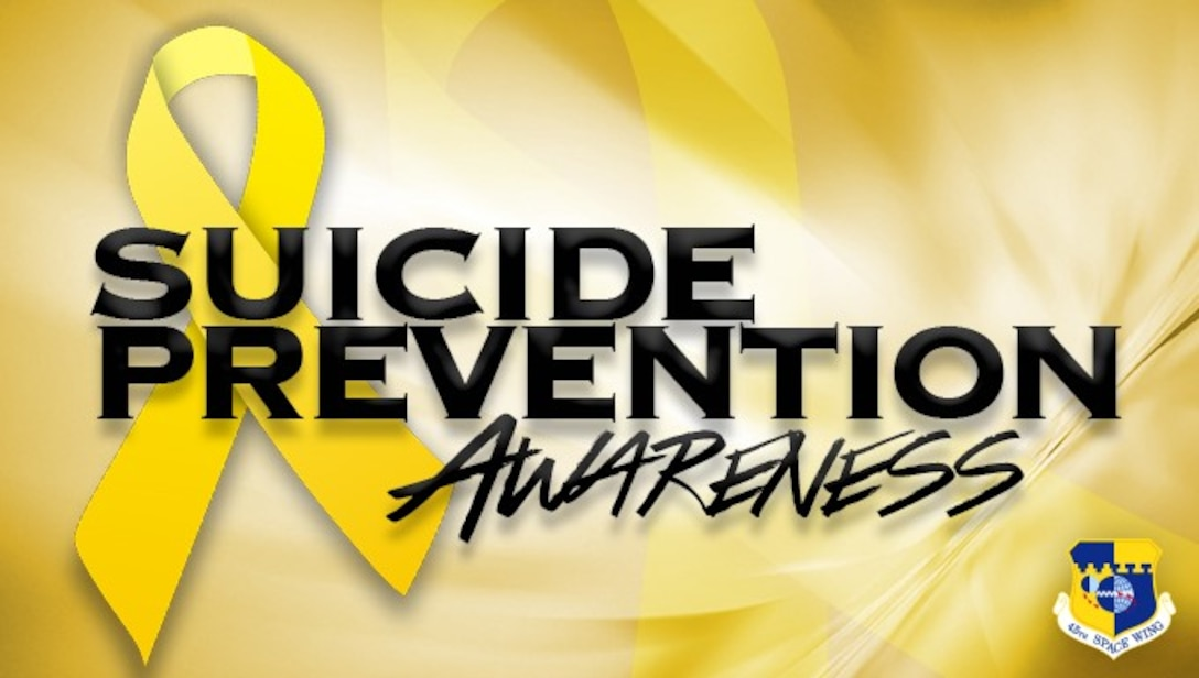 Suicide Prevention Awareness Graphic (U.S. Air Force graphic by James Rainier)
