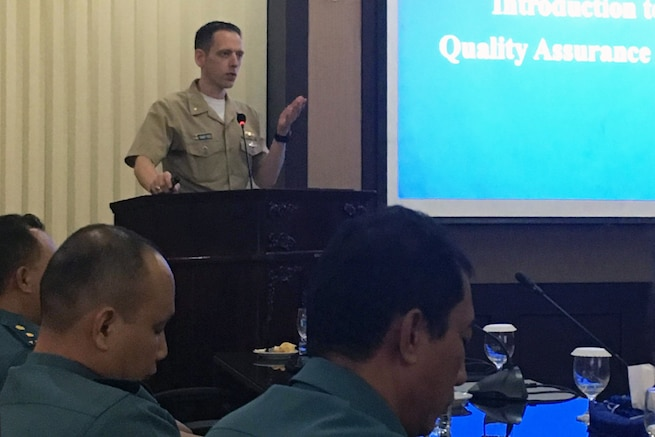Submarine Group 7 reinforces partnership with TNI during Submarine Force Staff Talks