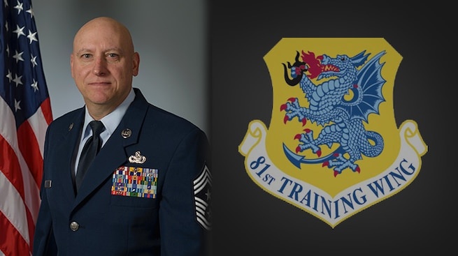 81st Training Wing command chief.
