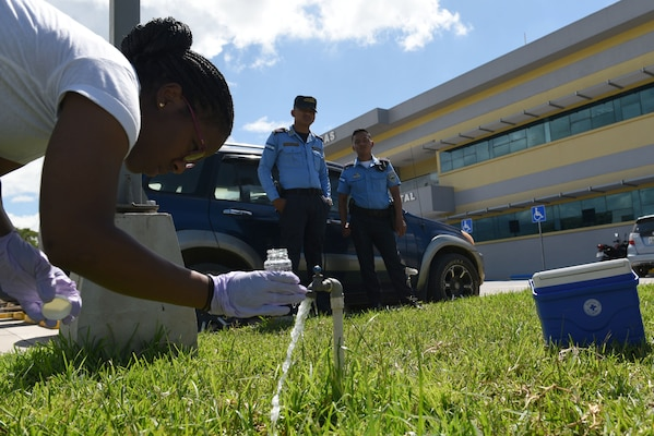 MEDEL tests local water