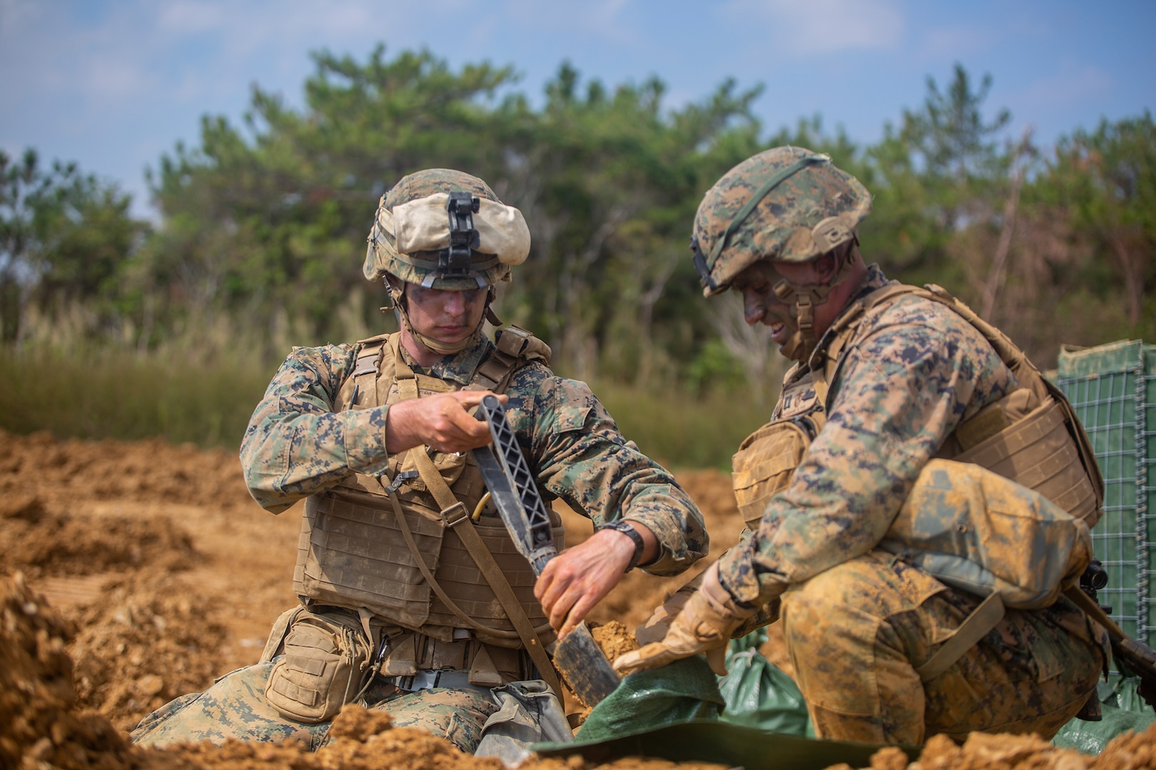 Ready for the test | 9th ESB Marines participate in Marine Corps Combat Readiness Evaluation
