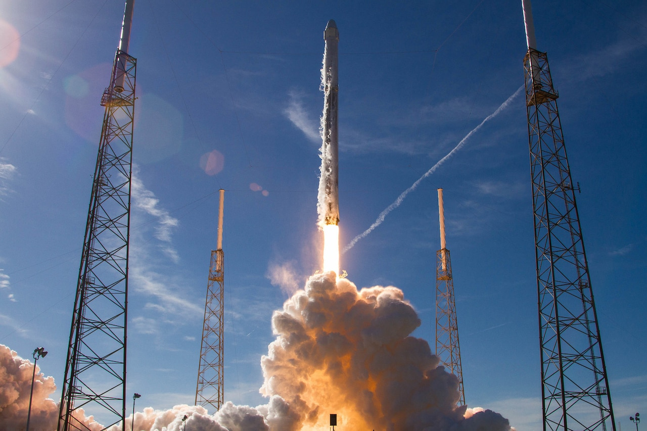 The Air Force's 45th Space Wing supported SpaceX's successful launch of NASA's Commercial Resupply Mission 13 aboard a Falcon 9 rocket from Launch Complex 40 at Cape Canaveral Air Force Station, Fla.