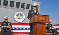 USS Blue Ridge Changes Command