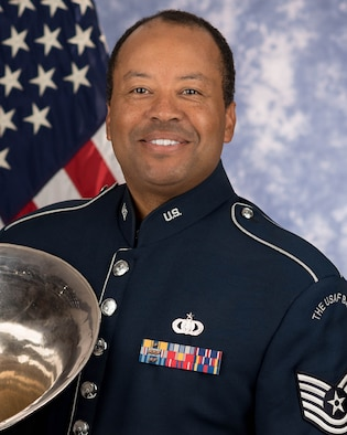 Technical Sgt. Willie E. Clark Jr. is a tubist with the Ceremonial Brass, The United States Air Force Band, Joint Base Anacostia-Bolling, Washington, D.C. A native of Harvey, Illinois, his Air Force career began in October 2003.