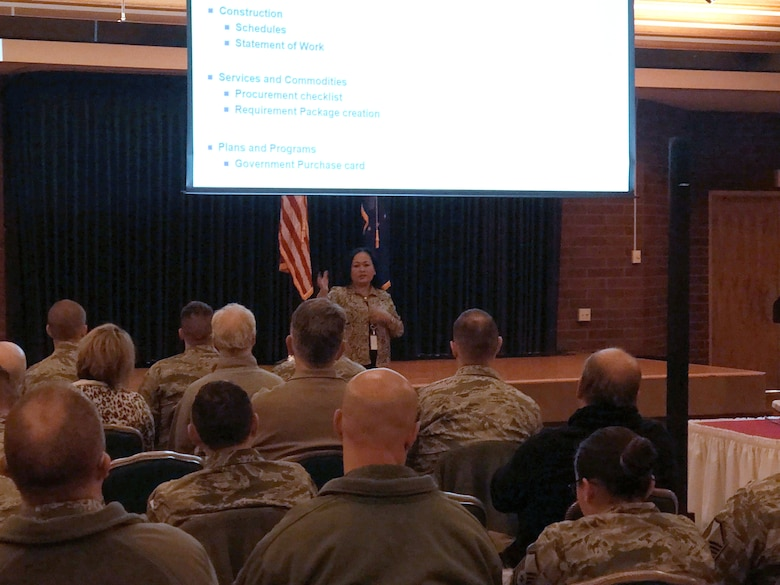 In an effort to help Airmen and civilian base members better understand the requirements and acquisition process, the 366th Contracting Squadron hosted a Mission Partner College seminar Nov. 14.