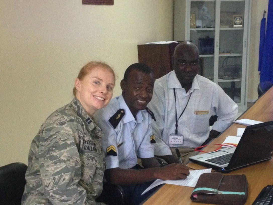 Francophone Captain shines in Africa