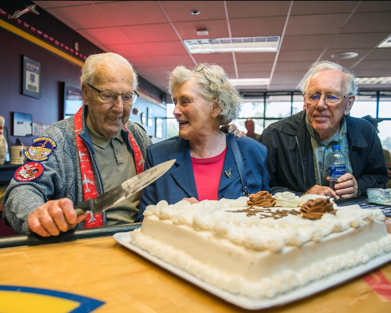 Travis celebrates World War II veteran's 100th birthday