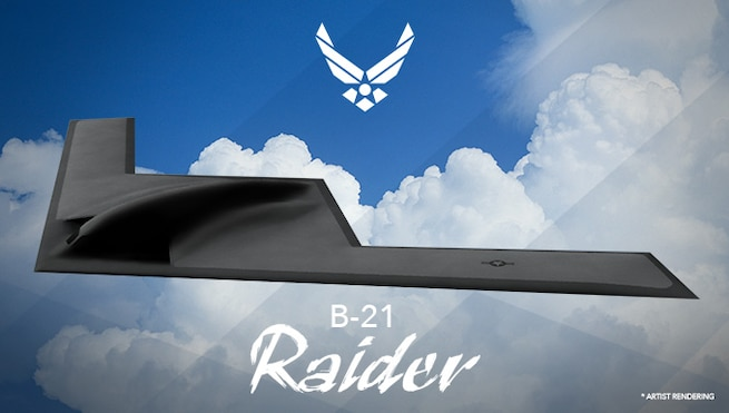 The Air Force has selected Tinker Air Force Base, Oklahoma, to coordinate maintenance and sustainment of the B-21 Raider and Edwards AFB, California, to lead testing and evaluation of the next generation long-range strike bomber.