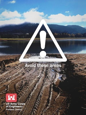 Due to low water levels in many Corps reservoirs in the Willamette Valley, officials are warning reservoir users of potential hazards.