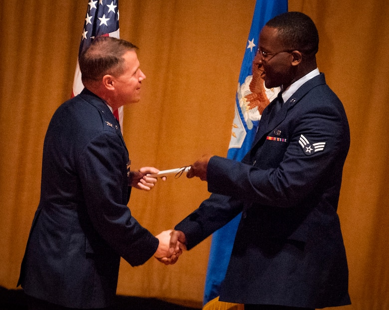 Community College of AF graduation