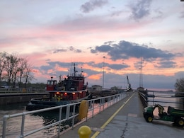 The U.S. Army Corps of Engineers (USACE), Buffalo District is closing the Black Rock Lock to conduct repairs to the gates and lock anchorages from November 26, 2018 to May 4, 2019.